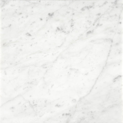 18 x 18 Honed Italian Bianco Carrara Tile  - DEKO Tile - 1