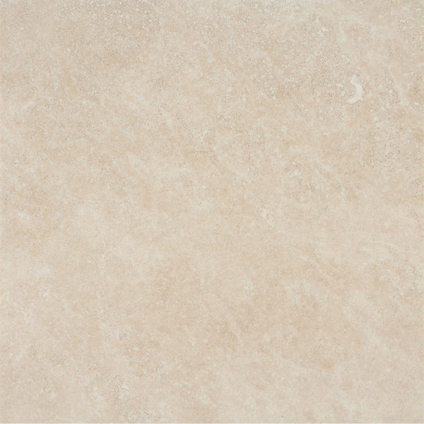 18 X 18 Honed And Filled Ivory Classic Travertine Tile
