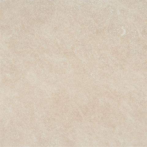 18 x 18 Honed and Filled Ivory Classic Travertine Tile - DEKO Tile