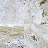 18 x 18 Leonardo Honed and Filled Travertine Tile - DEKO Tile