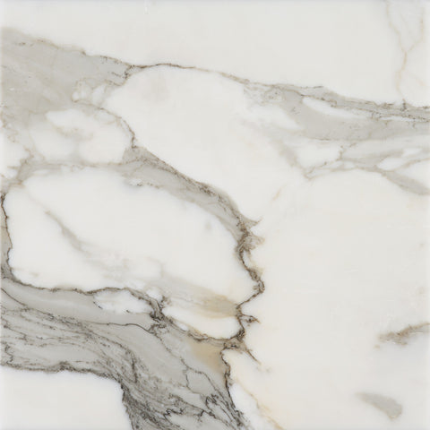 18 X 18 Polished Italian Calacatta Gold Marble Tile