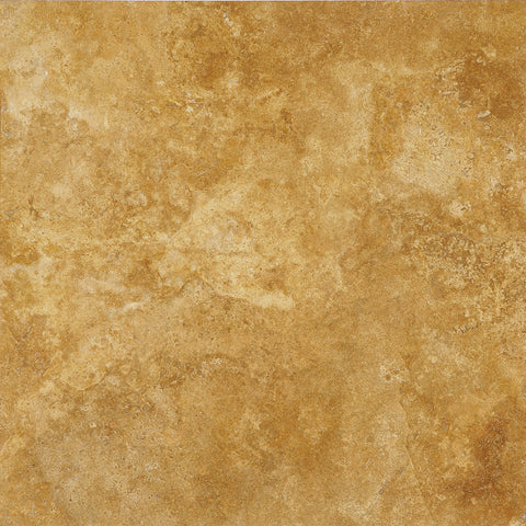 18 x 18 Yellow Travertine Honed and Filled Tile - DEKO Tile