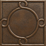 4 x 4 Threads Decorative Metal Insert - Bronze - DEKO Tile