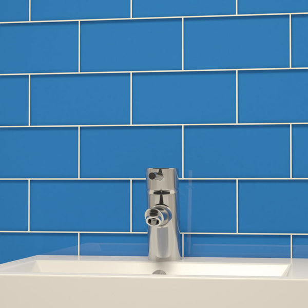3 X 6 Glass Subway Tile Dark Blue Deko Tile