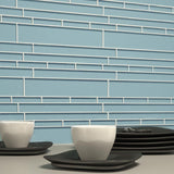 Metro Pattern Glass Mosaic Collection - Aquasphere - DEKO Tile