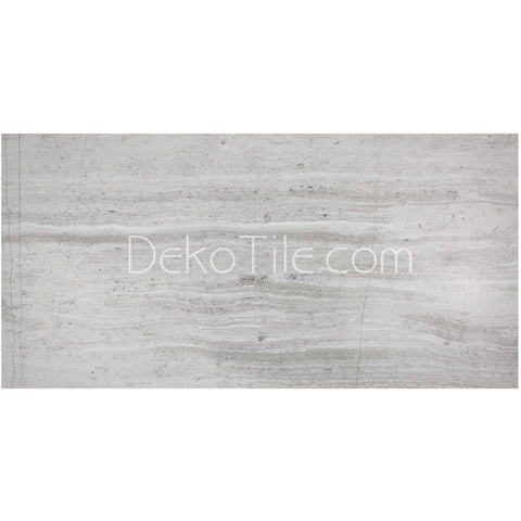 12 x 24 - Athens Silver Cream Limestone Honed  - DEKO Tile