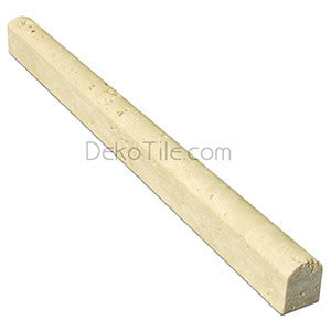 Ivory Classic Travertine Bullnose Trim - DEKO Tile