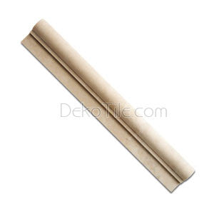 Botticino Honed Ogee Chair Rail - DEKO Tile