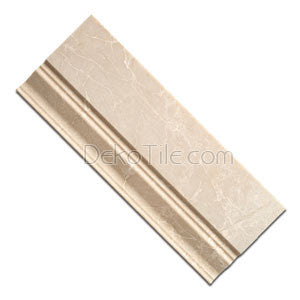 Botticino Honed Baseboard - 4 3/4 - DEKO Tile