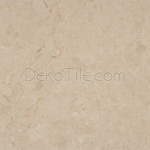 12 x 12 Polished Turkish Crema Marfil Marble Tile - DEKO Tile