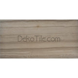 12 x 24 Honed Athens Gray Marble Tile  - DEKO Tile