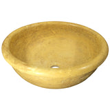 16 Gold Drop-In Sink Travertine - DEKO Tile