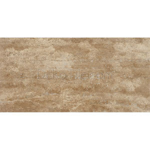 12 x 24 Walnut Vein Cut Honed and Filled Travertine Tile - DEKO Tile