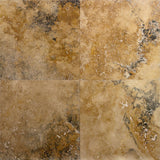 18 x 18 Antique Gold Honed and Filled Travertine Tile - DEKO Tile
