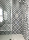 Glass Arabesque Tile ( True Gray)