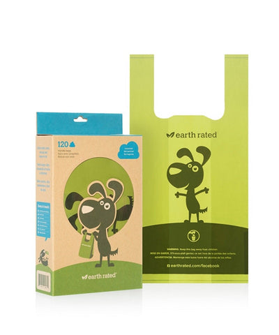 Earth Rated PoopBags with Handles -120 Ct