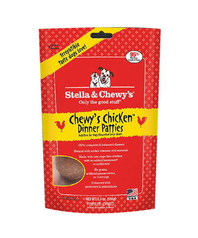 Stella & Chewy's Chicken Dinner Freeze Dried Patties