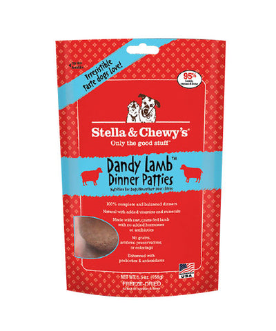 Stella & Chewy's Dandy Lamb Dinner Freeze Dried Patties