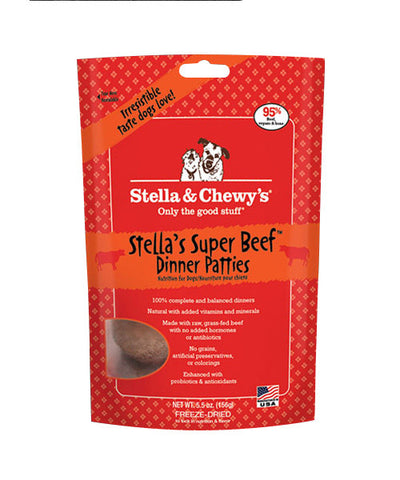 Stella & Chewy's Super Beef Dinner Freeze Dried Patties