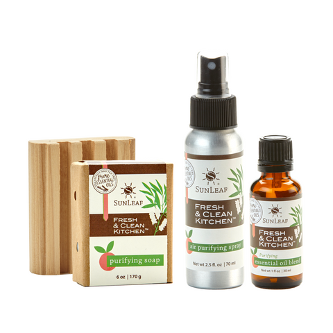Fresh & Clean Kitchen™ Collection - SunLeaf Naturals®
