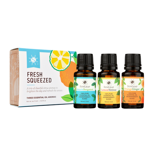 Fresh Squeezed Essential Oil Aroma Trio