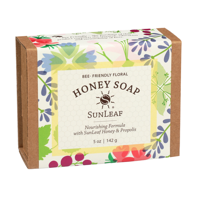 Bee-Friendly Honey Soap