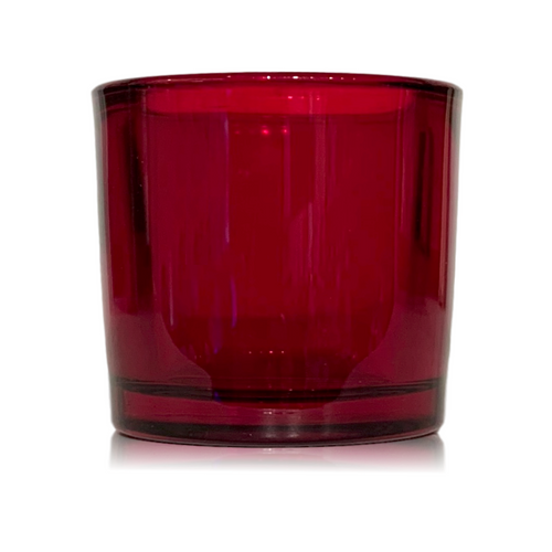 BayBerry Balsam Red Votive Glass