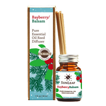BayBerry Balsam Pure Essential Oil Reed Diffuser