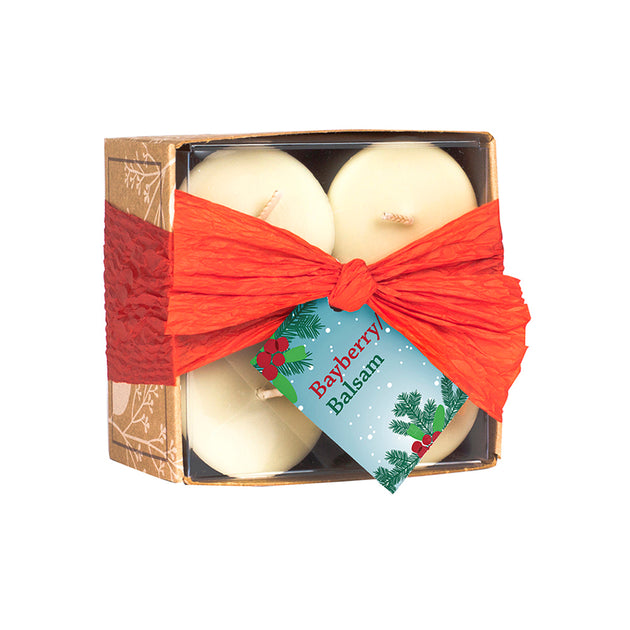 BayBerry Balsam Votive Candle Set