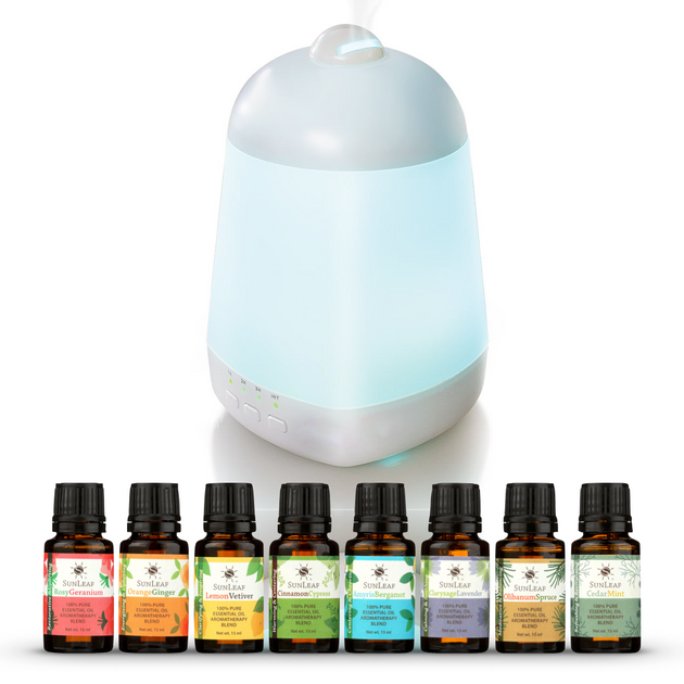 Aromatherapy Pleasures™ Gift Set - SunLeaf Naturals®