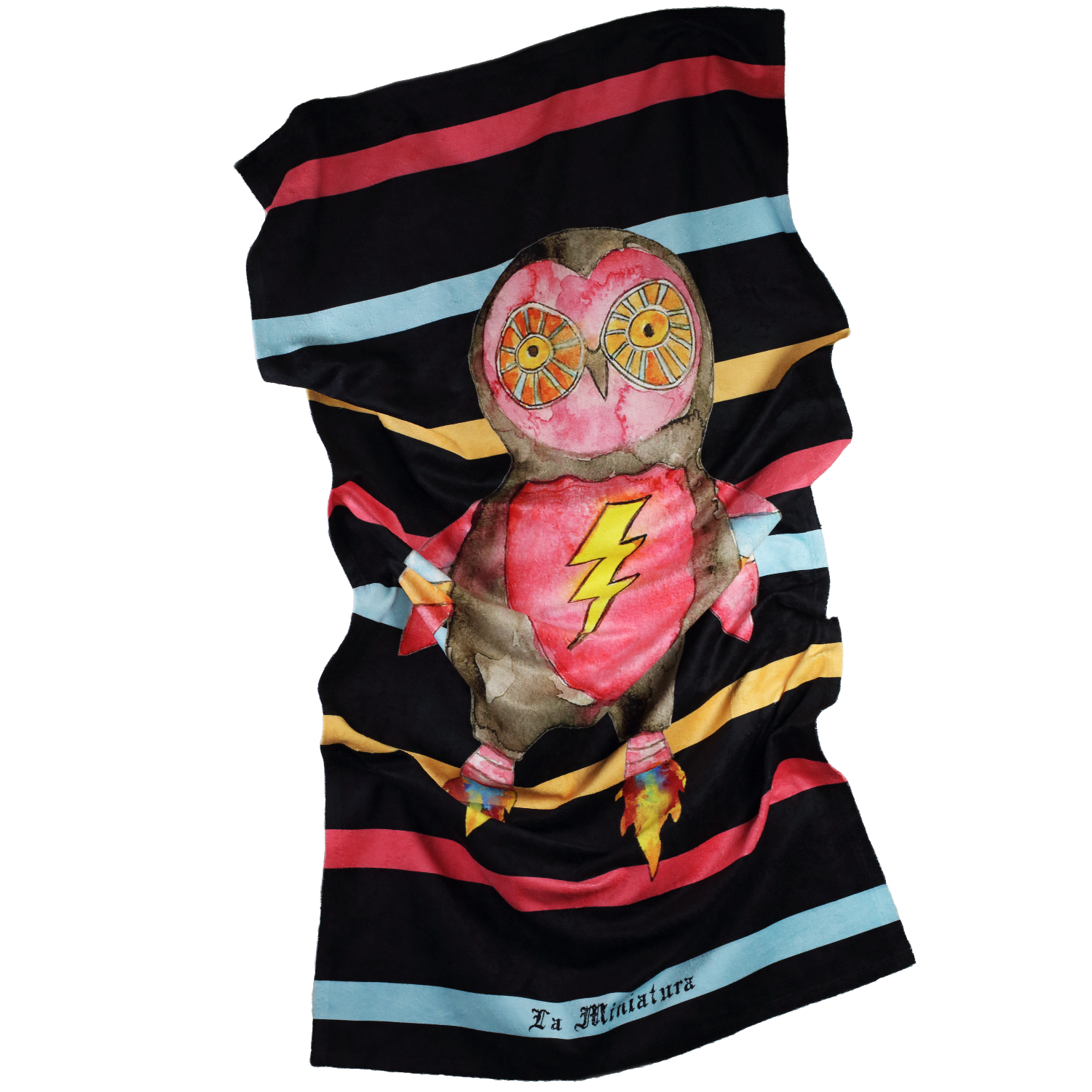 Rocket Owl Towel
