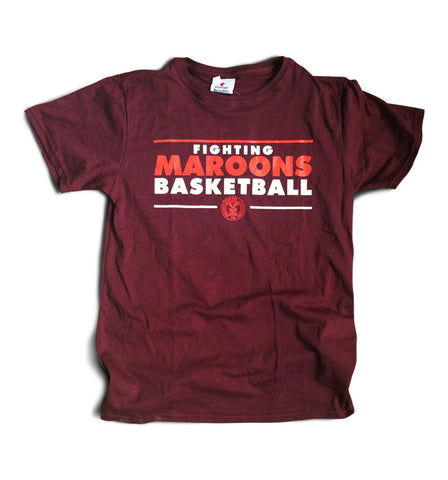 Fighting Maroons Basketball Shirt