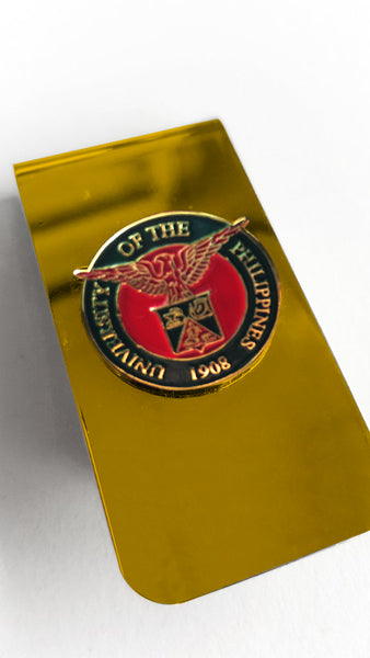 UP Money Clip - Gold