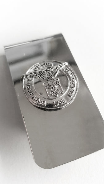 UP Money Clip - Silver