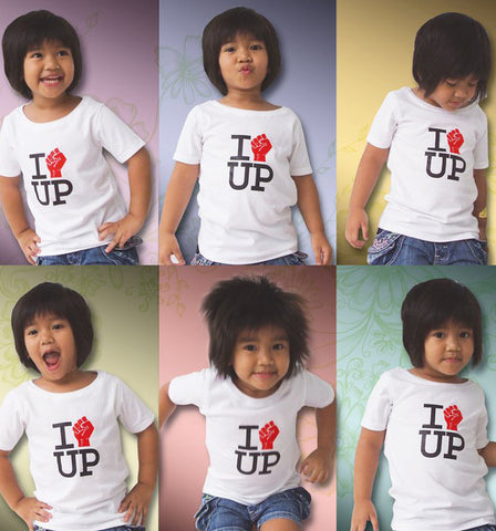 I Love UP Kids Shirt