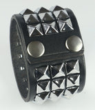 Pyramid Studded Bracelets and Wristbands