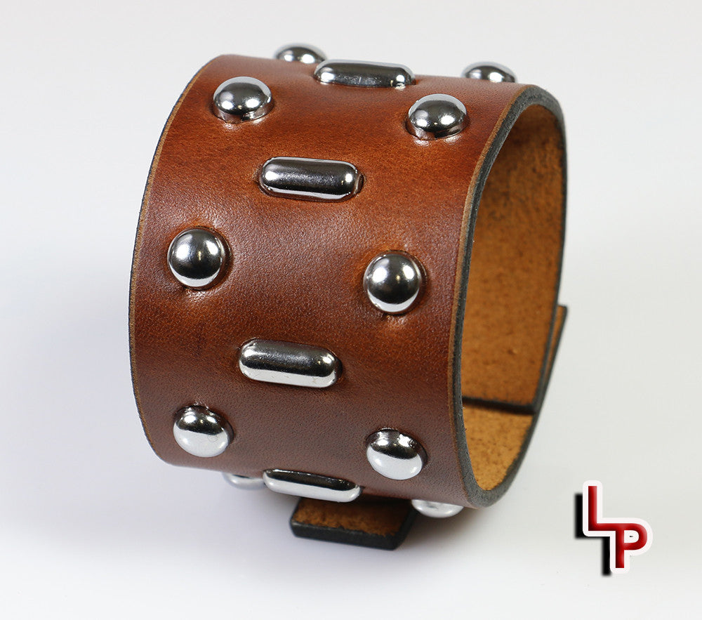 Hunter S. Thompson Studded Wristband (Johnny Depp Version)