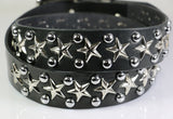 Freedie Mercury Star Studded belt with dome studs