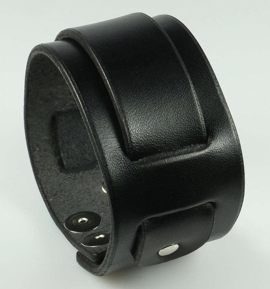 Super Weave Leather Wristband