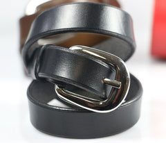 Triple Wrap Leather Bracelet with Buckle