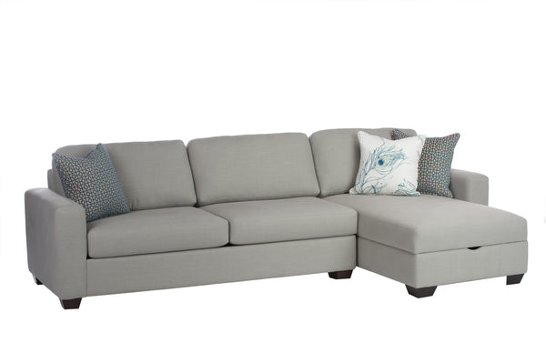 Daniela Sofa Right Facing Chaise - armchairmuse.com - 1