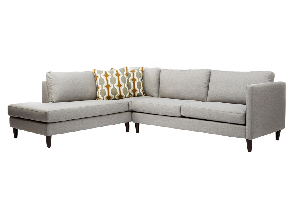 Darla Sofa Sectional Left Facing Chaise - armchairmuse.com - 1
