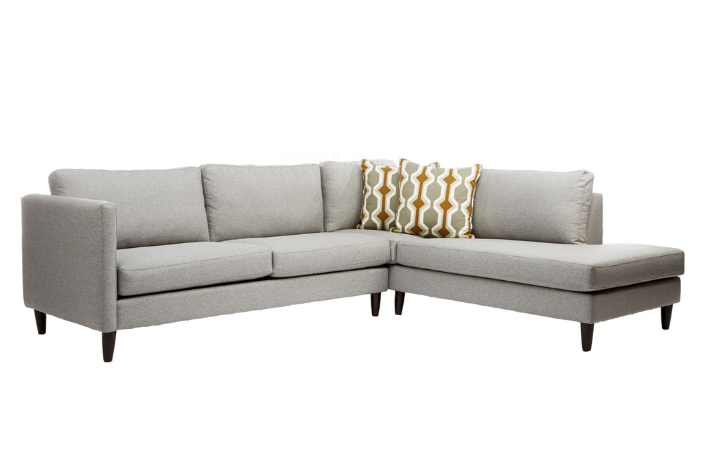 Darla Sofa Sectional Right Facing Chaise - armchairmuse.com - 1