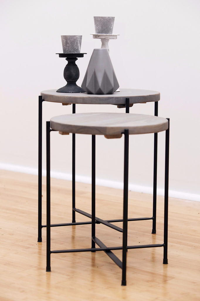 Laura Side Tables - armchairmuse.com - 1