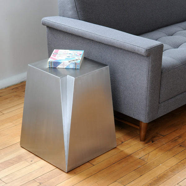 Gus* Glacier End Table - armchairmuse.com - 1