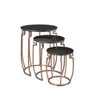 Arris Nesting Tables - armchairmuse.com - 2