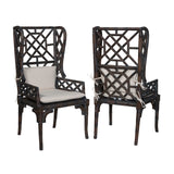 River Wing Back Chairs - armchairmuse.com - 2