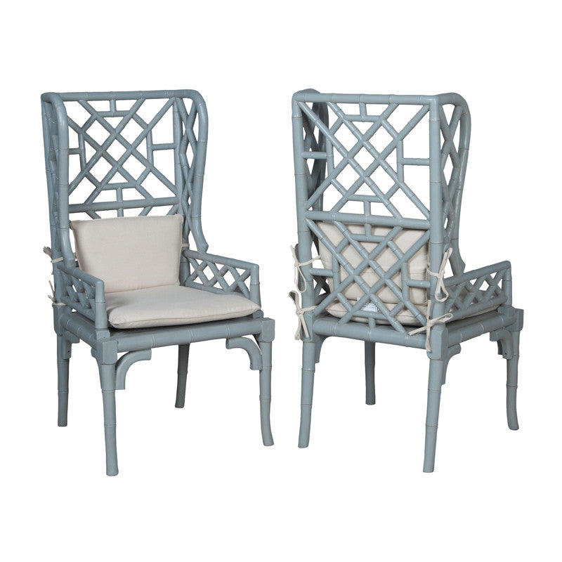 River Wing Back Chairs - armchairmuse.com - 1