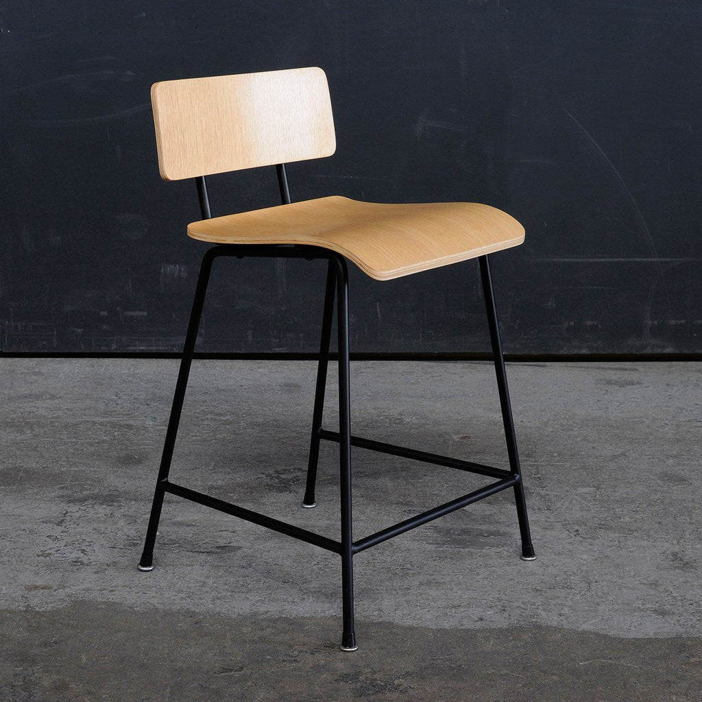 Gus* School Stool - armchairmuse.com - 2