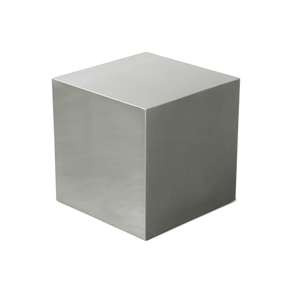 Gus* Stainless Cube - armchairmuse.com - 1